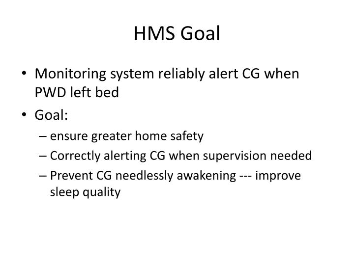 HMS Goal