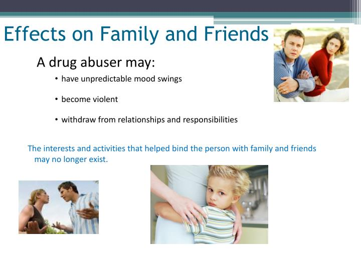 Effects on Family and Friends