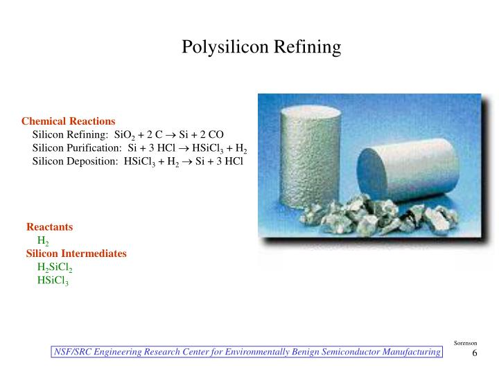 Polysilicon Refining