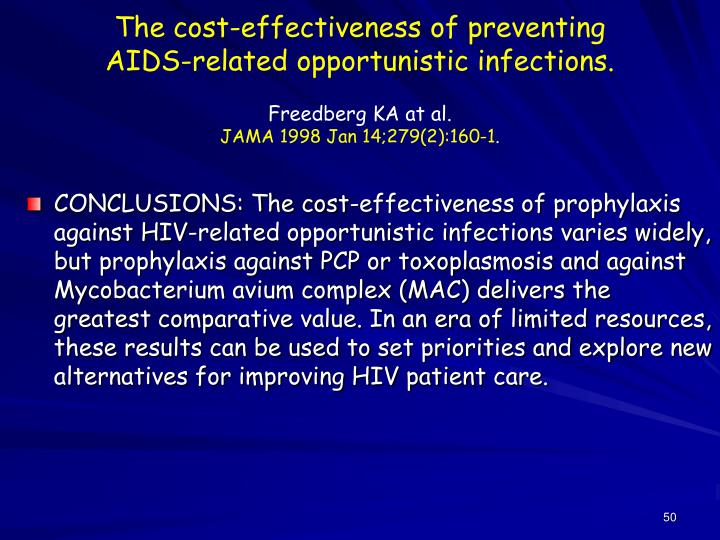 The cost-effectiveness of preventing