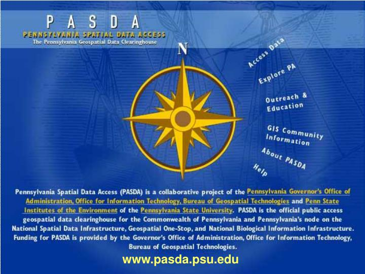 Www.pasda.psu.edu