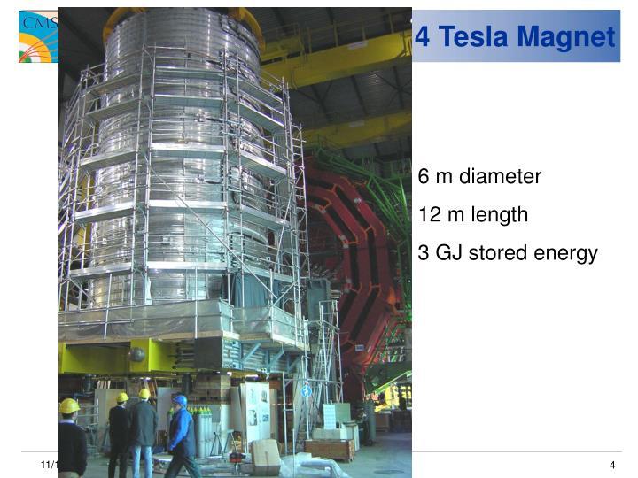4 Tesla Magnet
