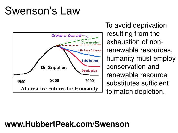 Swenson's Law