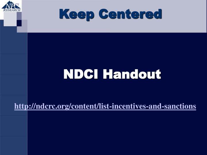 Keep Centered