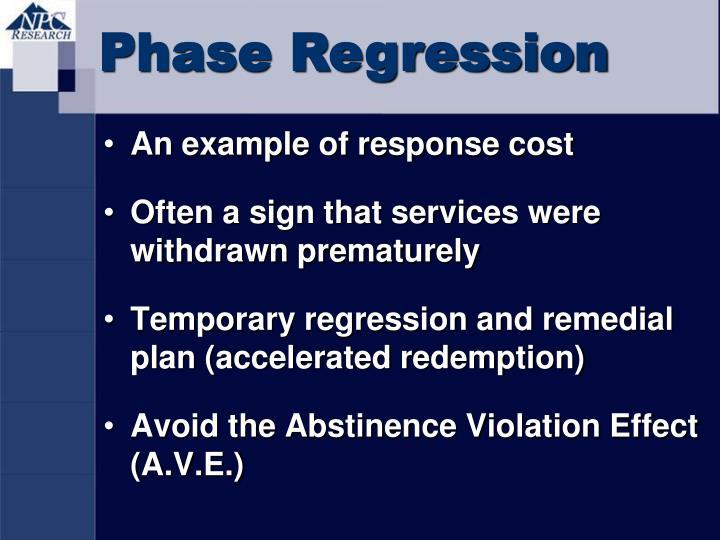 Phase Regression