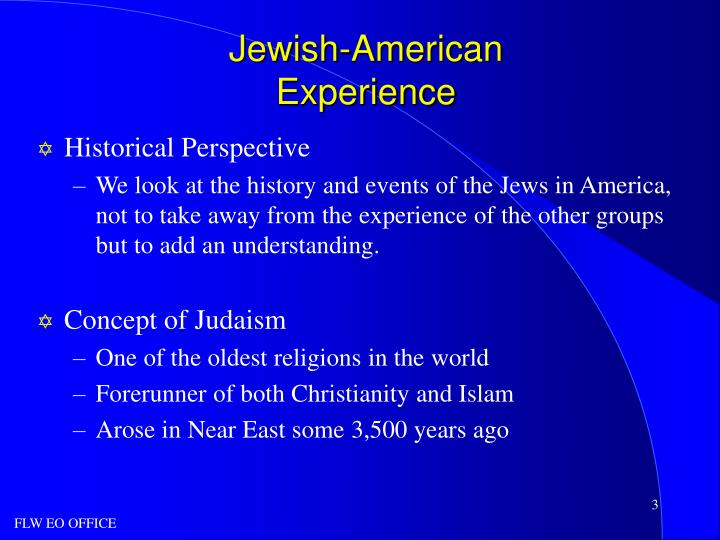 an overview of the foundation and history of christianity islam and judaism That focuses on the history and contributions of arab americans  monotheistic religions introduction  brief overview of judaism, christianity and islam judaism.