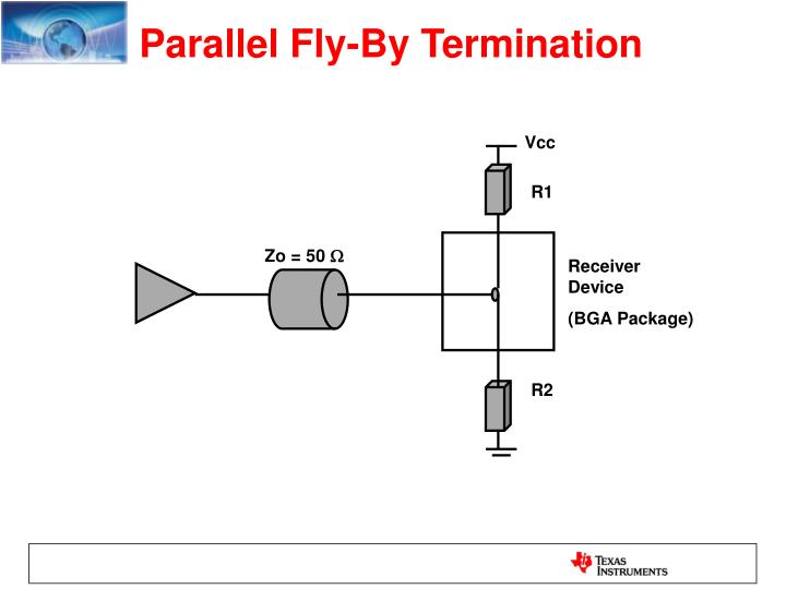 Parallel Fly-By Termination