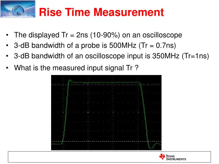 Rise Time Measurement