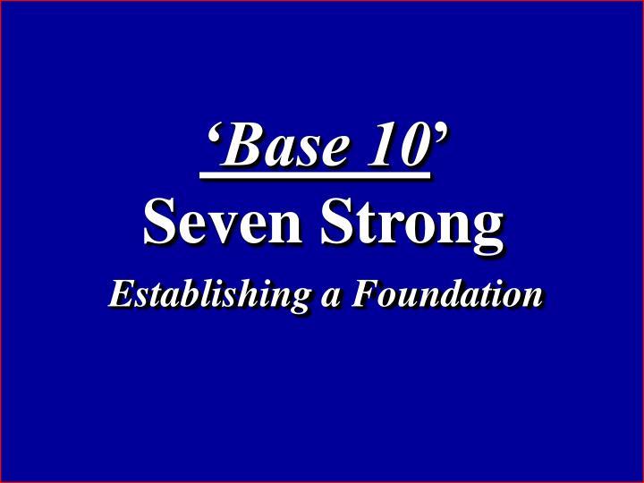 'Base 10