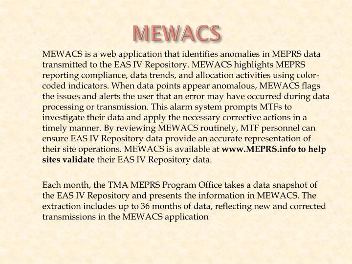 MEWACS