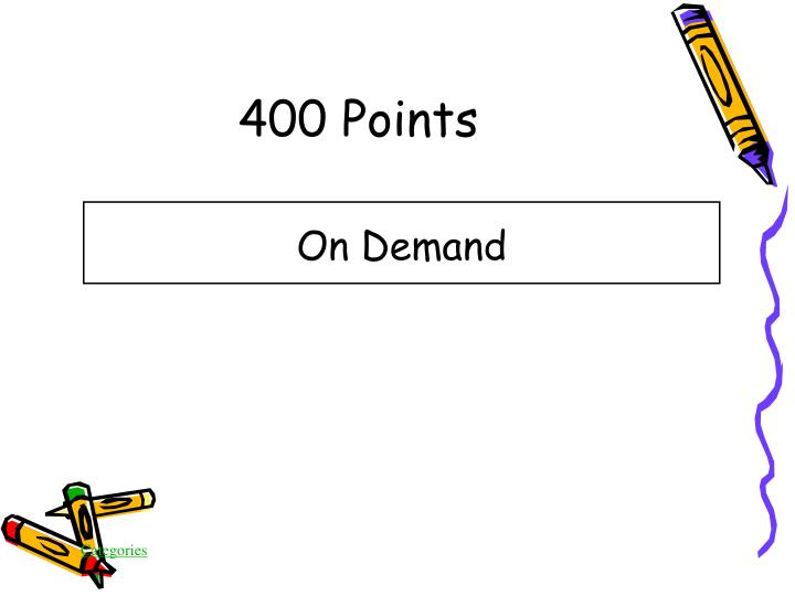 400 Points