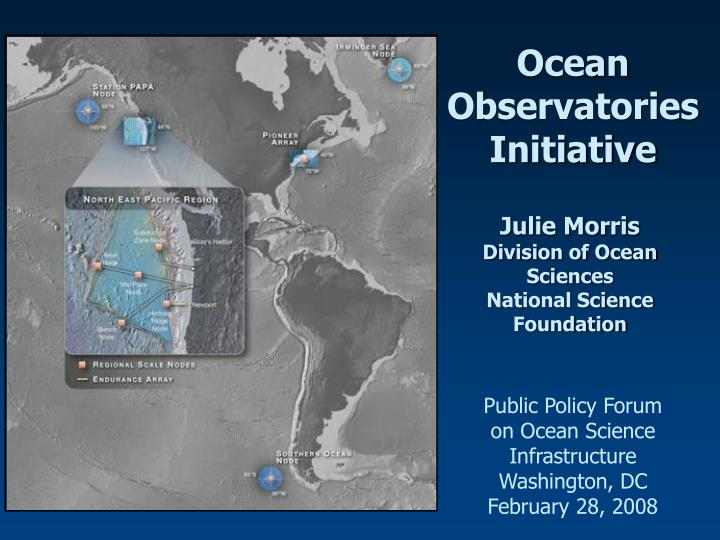 Ocean Observatories Initiative