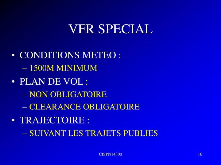 VFR SPECIAL