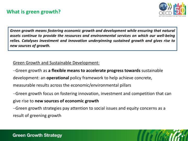 What is green growth?