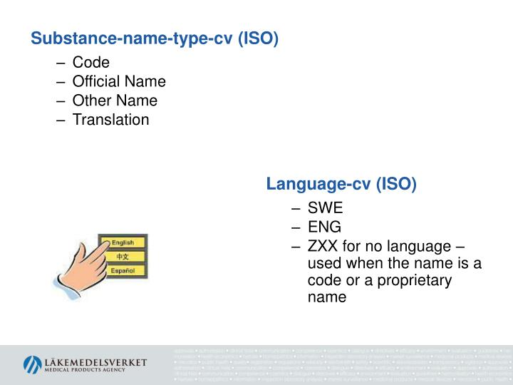 Substance-name-type-cv (ISO)