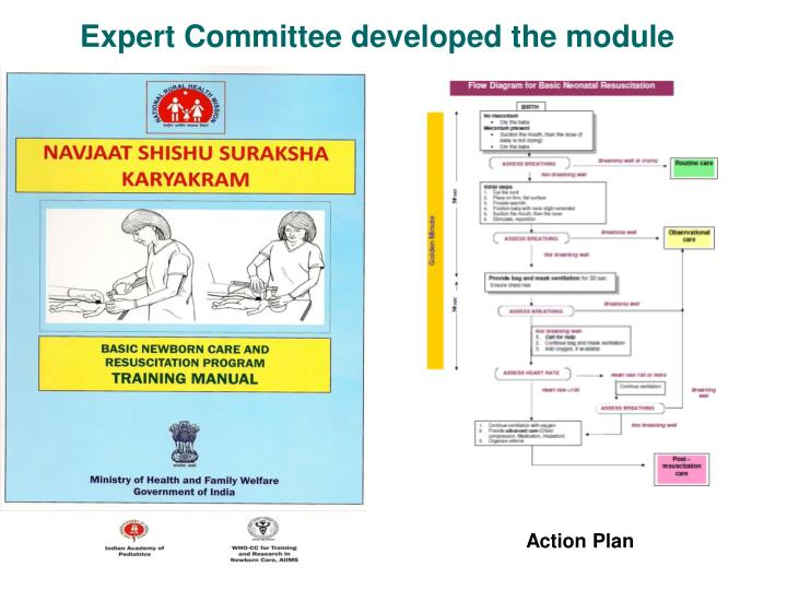 Expert Committee developed the module