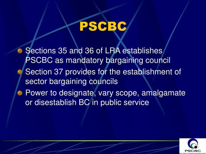 PSCBC