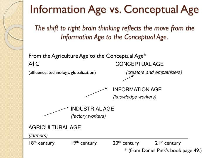 Information Age vs. Conceptual