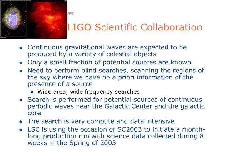 LIGO Scientific Collaboration