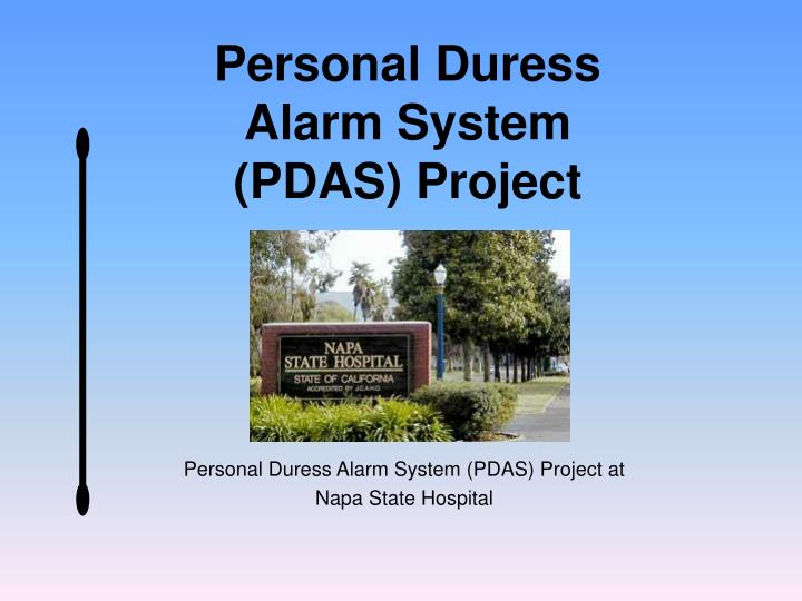 Personal Duress Alarm System (PDAS) Project