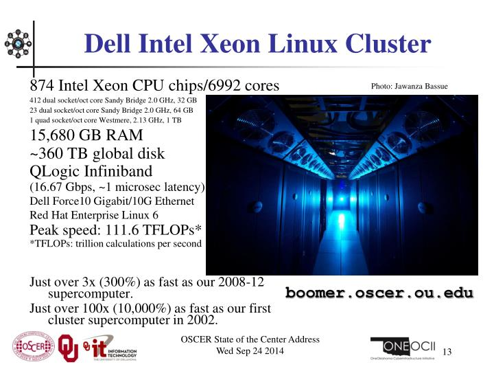 Dell Intel Xeon Linux Cluster