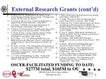 external research grants cont d4