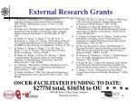 external research grants