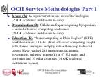ocii service methodologies part 1