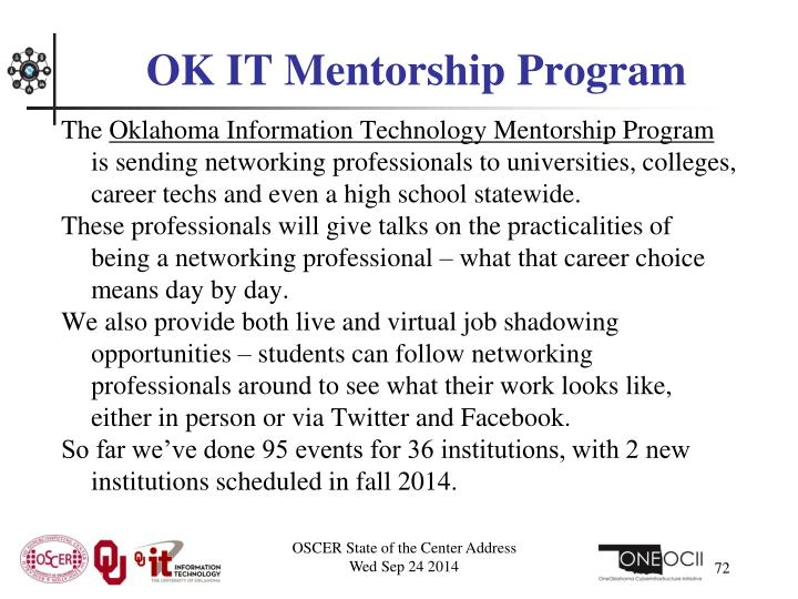 OK IT Mentorship Program
