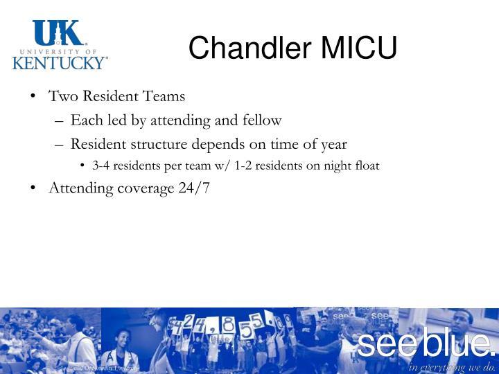 Chandler MICU