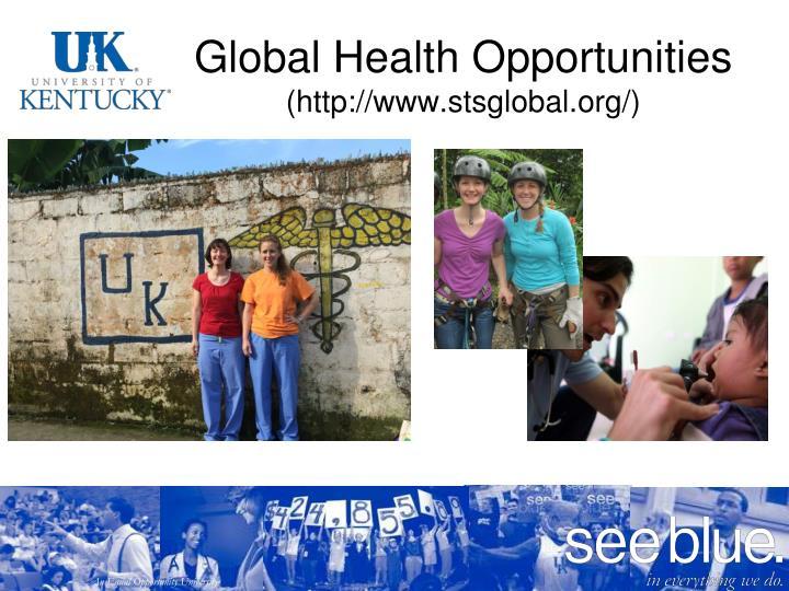 Global Health Opportunities