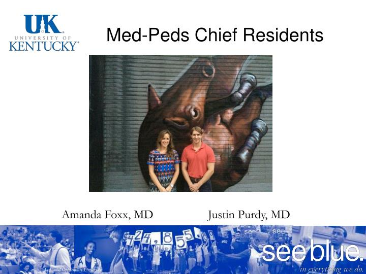 Med-Peds Chief Residents