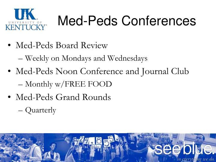 Med-Peds Conferences