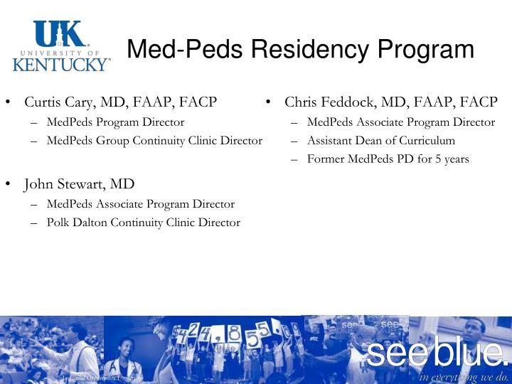 Med-Peds Residency Program