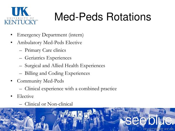 Med-Peds Rotations
