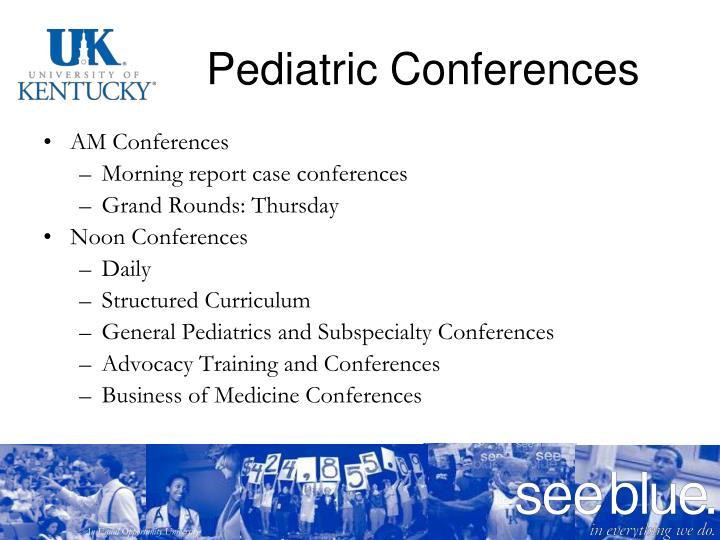 Pediatric Conferences