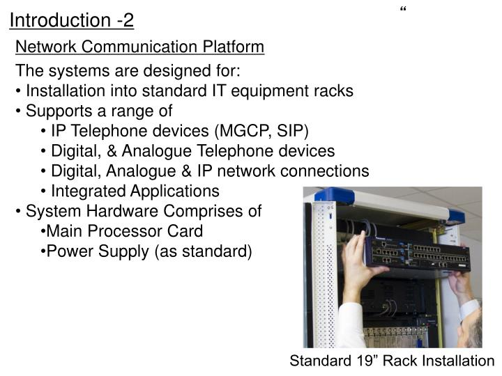 Network communication platform1