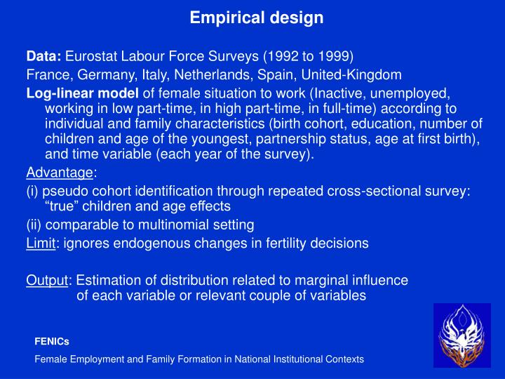 Empirical design