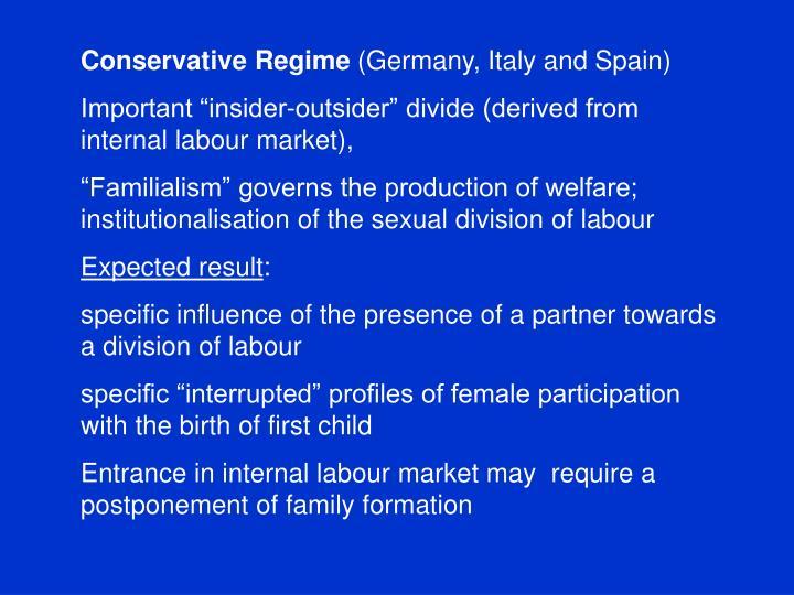 Conservative Regime