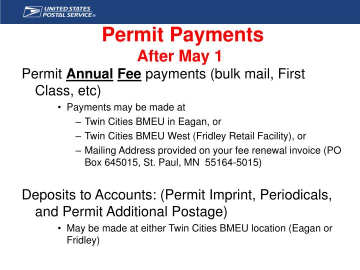 Permit Payments