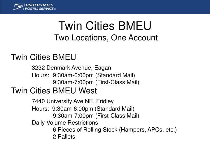 Twin Cities BMEU