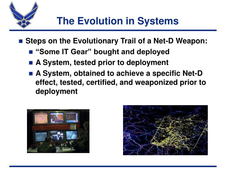 The Evolution in Systems
