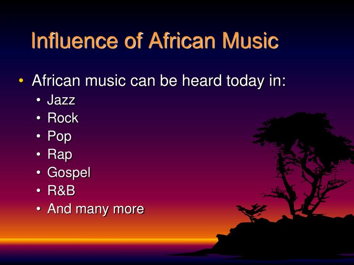 Influence of African Music