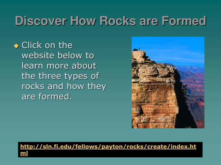 Discover How Rocks are Formed