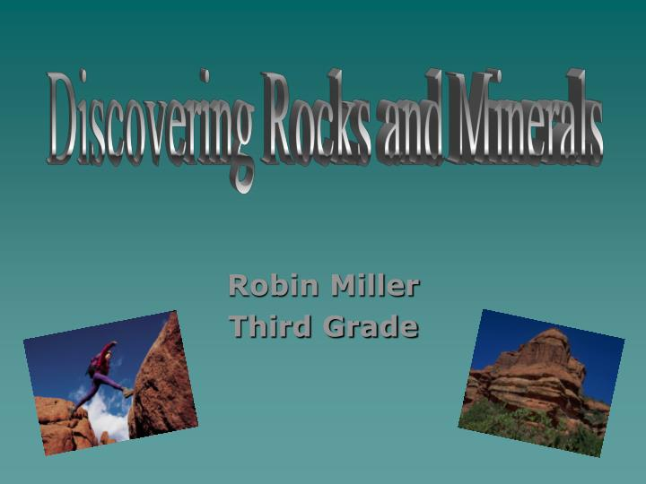 Discovering Rocks and Minerals