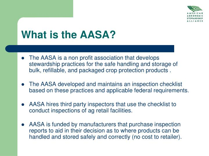 What is the AASA?