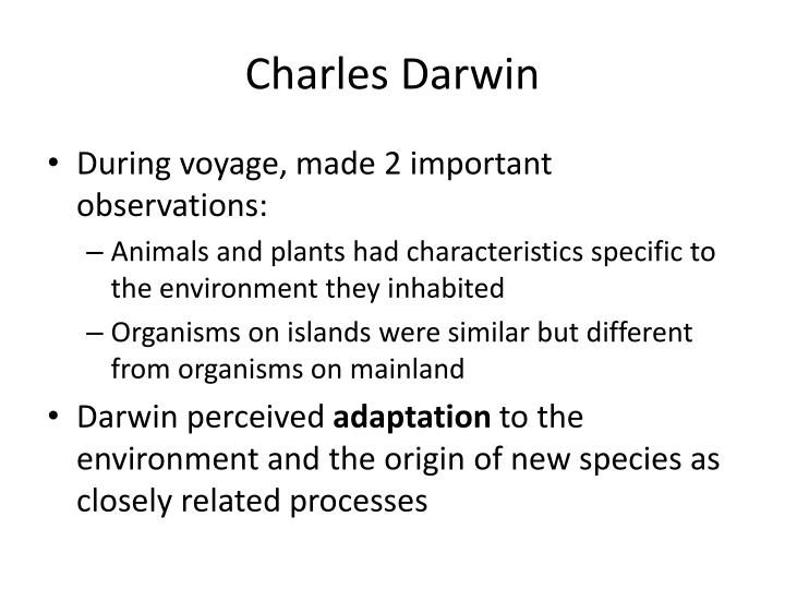 charles darwin essay natural selection