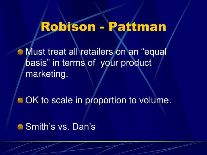 Robison - Pattman
