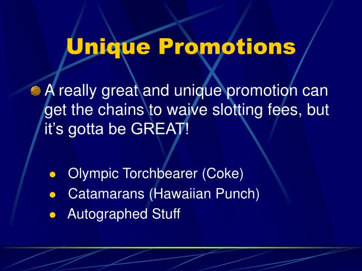 Unique Promotions