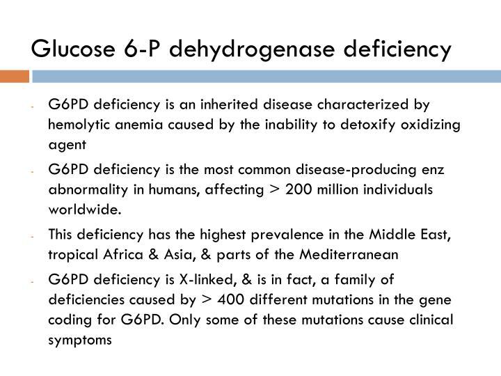 Glucose 6-P